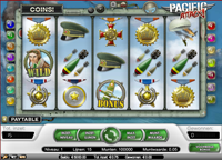 pacific attack video slot