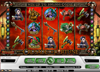 crusade of fortune video slot