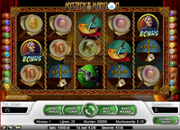 mystery at the mansion video slot