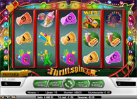 thrill spin video slot
