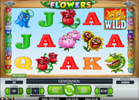 flowers video slot