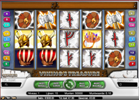 viking's treasure video slot